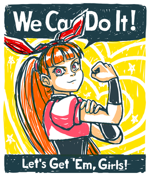 Girls Can Do It by Misora-Roll