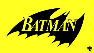 1988 Batman Comic Title Logo by HappyBirthdayRoboto