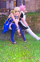 Lucy and Virgo Cosplay by Tanpopo89