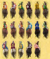 Horse Counters by Erebus74