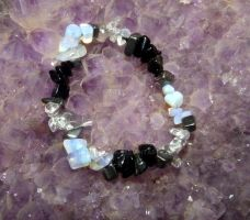 Magical/Healing/Protection Bracelet - Moon Goddess by Wilhelmine