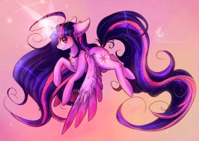 Princess Twilight Sparkle by Wilvarin-Liadon