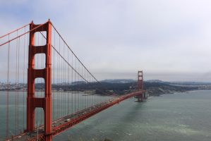 Bridge to the Golden State by Yassi1