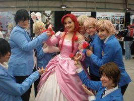 Supa-Ouran: hosting a princess by evilfuzzle2