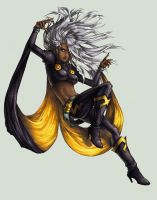 Women of X-Men :: Storm by RamenzillaX