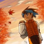 Netto under Autumn leaves by maruringo