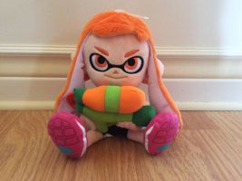 My Inkling Plush by Devil-The-Wolf