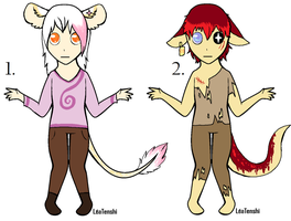 CLOSED - Humanoids Adoptables 203 by LeaAdoptables