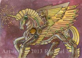 ACEO Unicorn 07 by rachaelm5