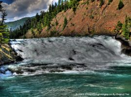 Bow River Falls by SLCGrad2k