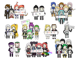 ALL the Vocaloids by KingisNitro