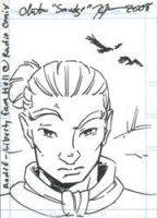 Andre Sketch Card by SmudgeDragon