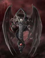 Dracula's Dragon by CLB-Raveneye