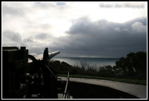 View From The Gun II by DarkestFear