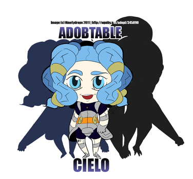 Adoptable Cielo by Ninetydrops