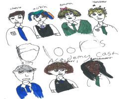 Main Charlie Bone  Cast -coloured- by FallenTributes