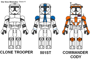 Star Wars Minimates Clones by Lee-At-Arms