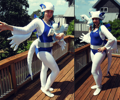 Lugia Trainer Cosplay by bluesonic1