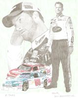 Nascar Dale Earnhardt, Jr. by eazy101