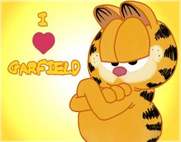 I love Garfield by carapau