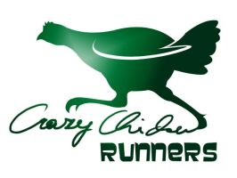 crazy chicken runners logo by GabrielWings