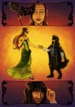 Kili and Tauriel: All the Right Moves by PharMafia-Soldier
