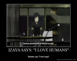 Izaya Quotes by shinyjade17