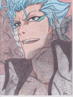 Grimmjow color by NordTheEndless