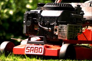 The lawn mower by toteZitrone
