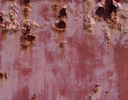 Rusty bubbled paint 1 by hydestock