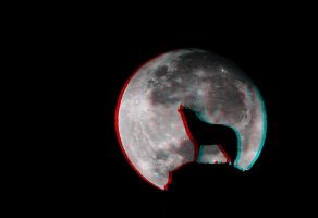 Howling at the Moon 3-D conversion by MVRamsey