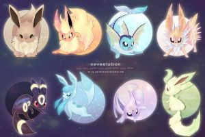 Revolution Eeveelution by sonicelectronic