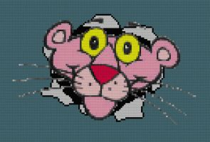 Lego Pink Panther PiNKiTUDE by drsparc
