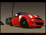 Mini Cooper by Invisible99