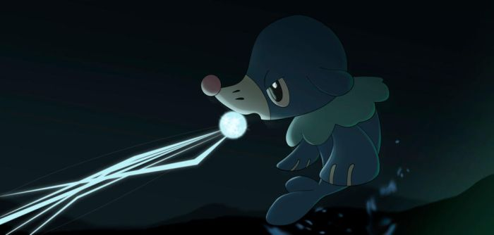 Popplio by All0412