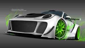 Porsche HURRICANE sports package by mcmercslr