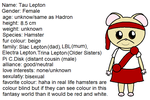 Tau's bio by ABtheButterfly