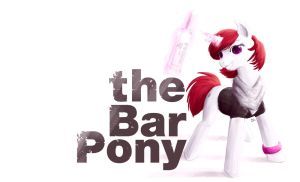 Bar Pony by wraith11