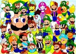 The annual Luigi convention by Iwatchcartoons715