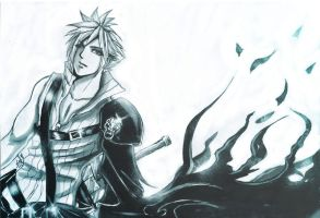 FF7: flowing dream... by DarkLitria