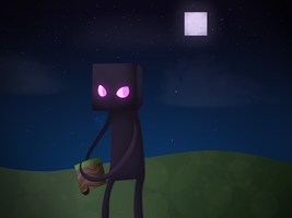 Enderman by C-H-I-Z-U