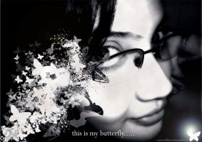 my butterfly by REBHUZZ