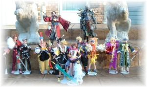 Final Fantasy X 11' Dolls Sale by SetsunaKou
