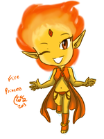 Aventure Blade -- Fire Princess by LooSamoro