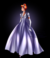 Disney Haut Couture - Cinderella by selinmarsou