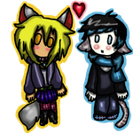 Chibis in love by Pokechan13