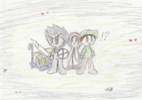 Four Heroes by TwistedHensley
