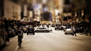 Tilt Shift New York 1920x1080 by Lagnar2010