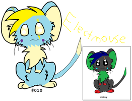 #010 Electmouse by thecat1313