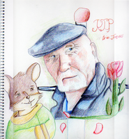 Mister Brian Jacques by FelldohTheSquirrel